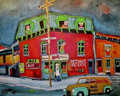 Zaleski Grocery Goose Village Original