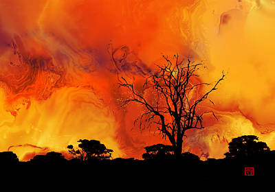 Digital Art - Zambian Dreams by David Jenkins