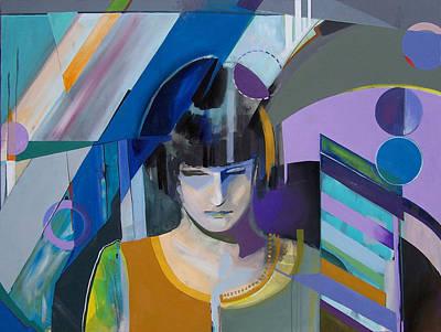 Painting - Zan by Kaley LaRose