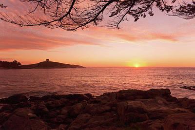 Photograph - Zapallar Sun Kiss by Kent Nancollas