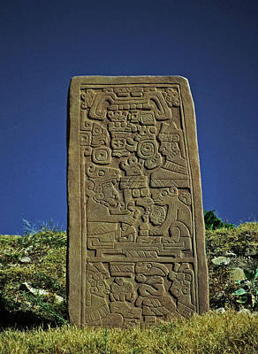 Photograph - Zapotec History by Juergen Weiss