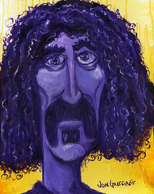 Frank Zappa Painting - Zappa 4 by Jon Griffin