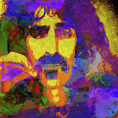 Digital Art - Zappa by Gary Grayson