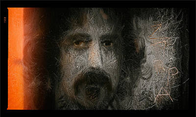 Zappa-the Deathless Horsie Art Print