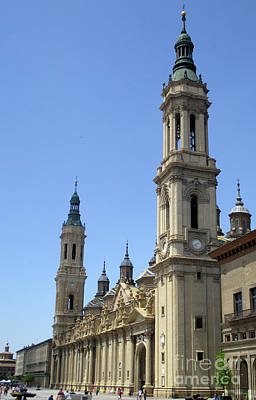 Photograph - Zaragoza Cathedral 10 by Randall Weidner