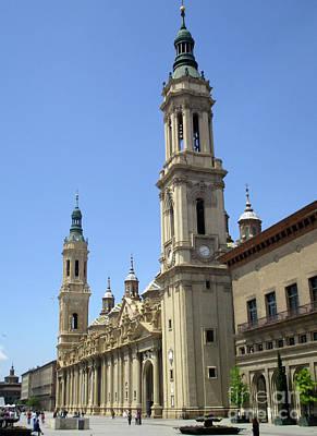 Photograph - Zaragoza Cathedral 11 by Randall Weidner