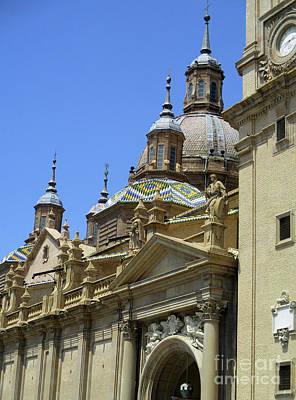 Photograph - Zaragoza Cathedral 13 by Randall Weidner