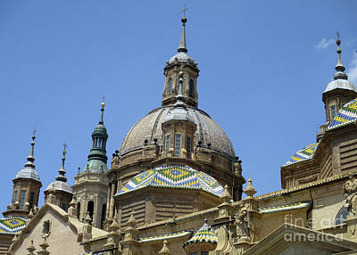 Photograph - Zaragoza Cathedral 14 by Randall Weidner