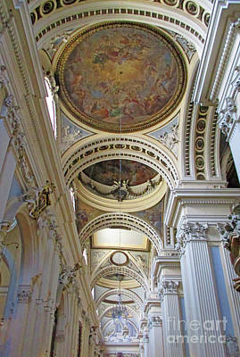 Photograph - Zaragoza Cathedral 15 by Randall Weidner