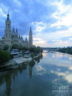 Photograph - Zaragoza Cathedral 19 by Randall Weidner