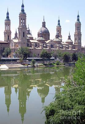 Photograph - Zaragoza Cathedral 2 by Randall Weidner