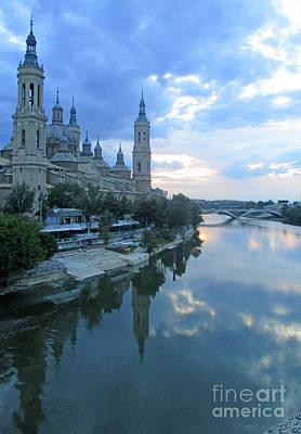 Photograph - Zaragoza Cathedral 20 by Randall Weidner