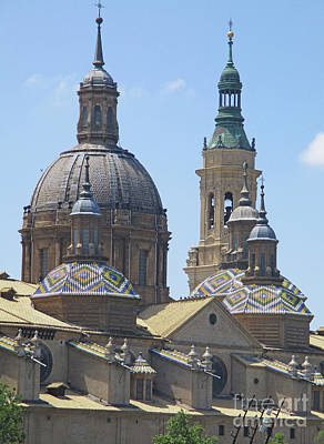 Photograph - Zaragoza Cathedral 4 by Randall Weidner