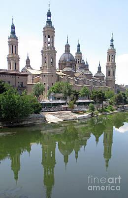 Photograph - Zaragoza Cathedral 6 by Randall Weidner