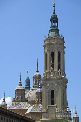 Photograph - Zaragoza Cathedral 7 by Randall Weidner