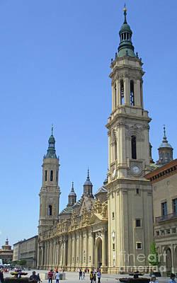 Photograph - Zaragoza Cathedral 9 by Randall Weidner