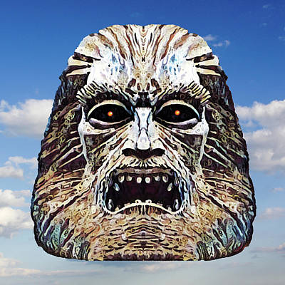 Painting - Zardoz by Gary Grayson