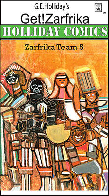 Zarfrika Team 5 Art Print
