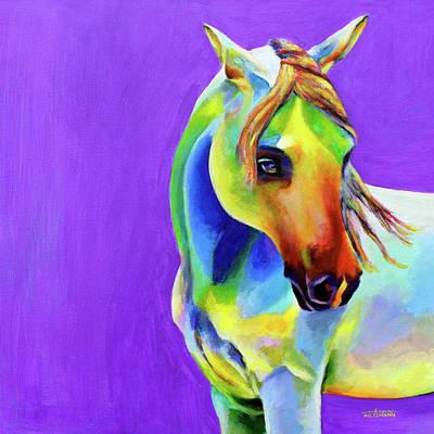 Painting - Zasha by Arleana Holtzmann