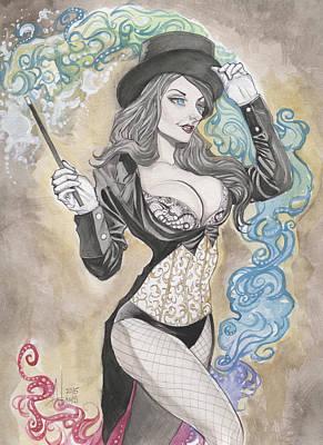 Zatanna Zatara Art Print