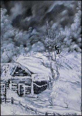 Zauberhafter Winter Art Print