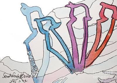 Zayin Taggin And Shadow Zayin Art Print