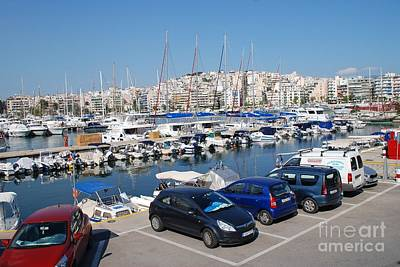 Photograph - Zea Marina In Athens Greece by David Fowler