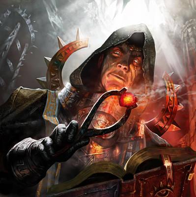 Zealous Inquisitor Art Print