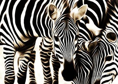 Zebra Family Original by Gull G