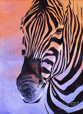 Painting - Zebra I by Ryan Fox