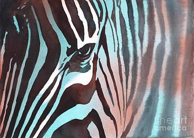 Painting - Zebra II by Ryan Fox