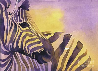 Painting - Zebra IIi by Ryan Fox