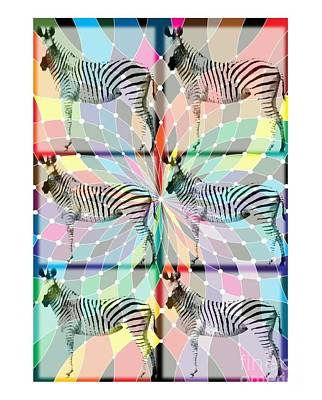 Jenna Thomas Wall Art - Digital Art - Zebra Mine by Jenna Thomas