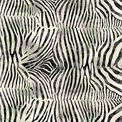 Painting - Zebra Print by Aloke Creative Store