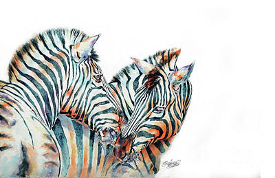 Painting - Zebra by Stephie Butler