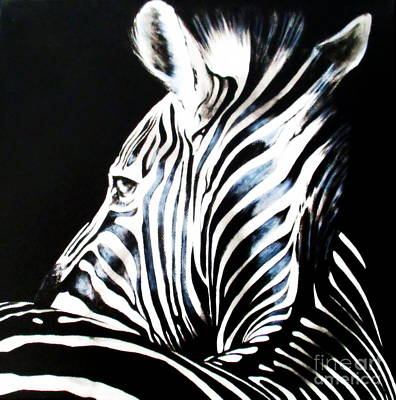 Painting - Zebra by Tracey Armstrong