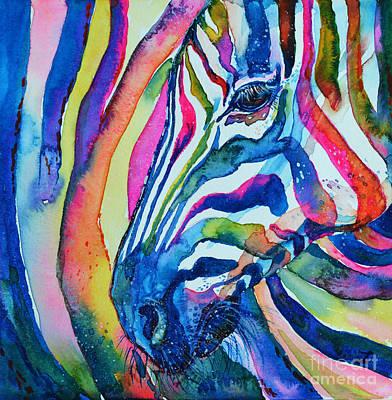 Painting - Zebra by Zaira Dzhaubaeva