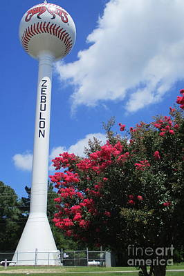 Photograph - Zebulon Water Tower 2 by Randall Weidner