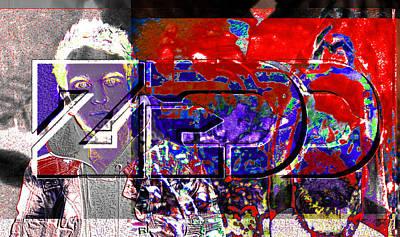 Bass Digital Art - Zedd Tribute  by Andrew Kaupe