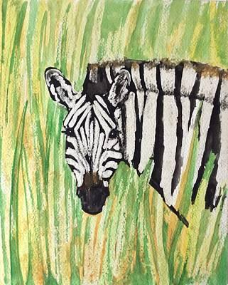 Painting - Zeeb  by Elizabeth Mundaden