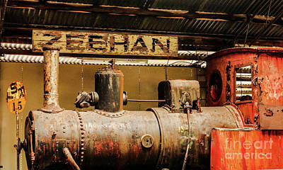 Photograph - Retired Zeehan Railway by Lexa Harpell