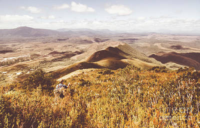 Climb Photograph - Zeehan Tasmania by Jorgo Photography - Wall Art Gallery