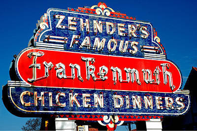 Zehnder's Frankenmuth Michigan Art Print