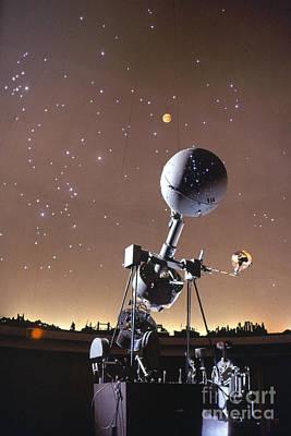 Photograph - Zeiss Planetarium Projector by Granger