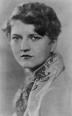 Zelda Fitzgerald 1900-1948, Talented Art Print by Everett