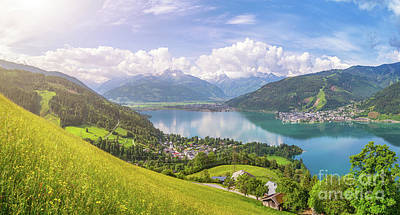 Photograph - Zell Am See - Alpine Beauty by JR Photography
