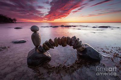 Sculpture - Zen Arch by Pontus Jansson