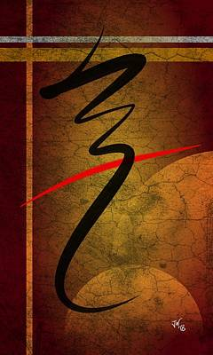 Digital Art - Zen Art 1 by John Wills