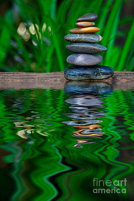Photograph - Zen Art And Reflections By Kaye Menner by Kaye Menner