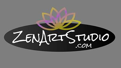 Digital Art - Zen Art Studio Logo by Julie Niemela